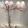 White Trunk Pink Flower Magnolia Fake Tree , Silk Magnolia Tree 2m Height for sale