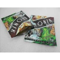 Quality 100 micron PET / VMPET / PE Herbal Incense Packaging Bags for sale