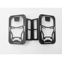 Quality Iron Man Taillight cover for jeep wrangler JK 07+ taillamp cover offroad accessories for sale