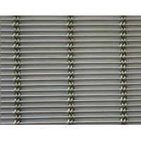 Quality ZSW-436 Decorative stainless steel braided woven architectural woven mesh for facade claddings for sale