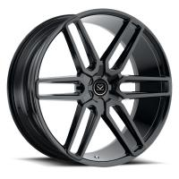 Quality 20x10 inch black milled custom forged monoblock alloy wheel chrome rims for sale