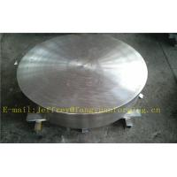 Quality P355QH EN10273 Carbon Steel Forged Disc  PED  Export To Europe 3.1 Certificate Pressure Vessel Blank Flange for sale