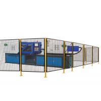 Durable Wire Mesh Machine Guarding Industrial Safety Fencing 5 Feet Width 7 Feet Height