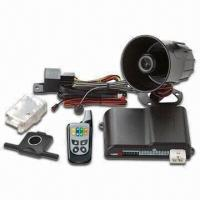 Quality Two-way LCD FM/FM Remote Car Alarm and Starter with Valet Switch Override and Valet Mode for sale