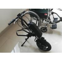 Quality Lightweight Electric Wheelchair Conversion Kit With Display And Disk Brake for sale
