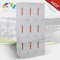China 2016 Hot sale cheap cold rolled steel stuff storage locker cabinet,6 door with 6 lock on sale