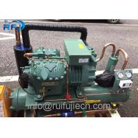Quality R404 Refrigeration Condensing Unit / Bitzer 6FE-50Y Water Cooled Condenser Unit for sale