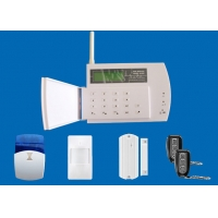 Quality House GSM PSTN alarm system with LCD Screen display and multiple languages for sale