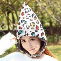 China new design yiwu china wholesale bomber fleece winter Trapper camouflage earflap hats 100%polyester 24*35cm 95g thick 4 on sale