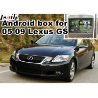 Quality Lexus GS300 GS430 2005-2009 Car Navigation Box , mirror link video interface rear view for sale