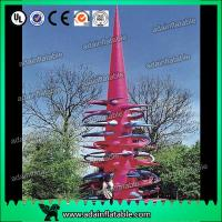 Quality Customized Outdoor Event Decoration Giant Inflatable Cone With Thorn for sale