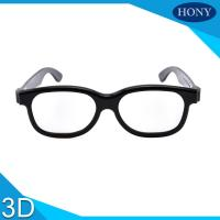 Quality Movie Circular Polarized 3D Glasses / Cinema Use 3d glasses circular polarized for sale