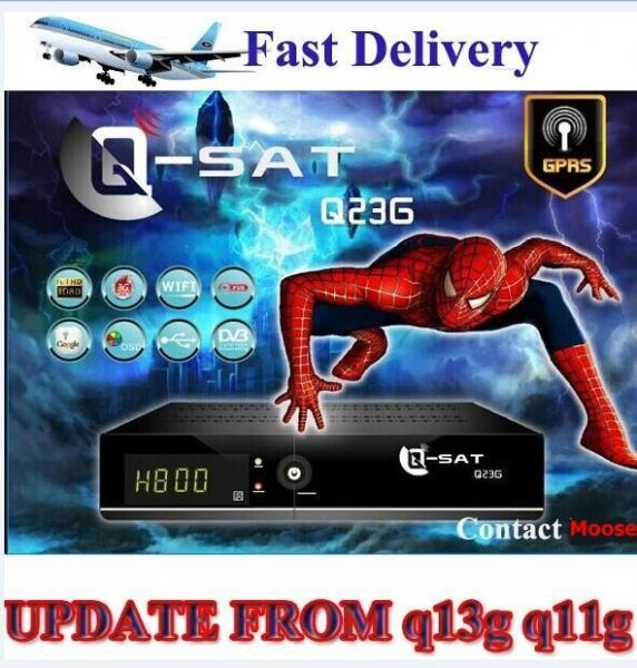 Satellite receivers q sar box q 23g