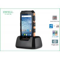 Buy cheap 2G 16GB 5 inch Barcode Scanner Rugged Outdoor SmartPhone with LF 125KHz from wholesalers