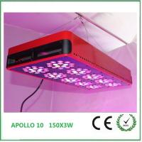 Quality 2016 new Hydroponic LED Grow Lights 150*3W for indoor Flower plants with vegetative&flower for sale