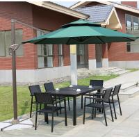 Buy Outdoor Garden wicker furniture sets Poly rattan chair patio chairs and table at wholesale prices
