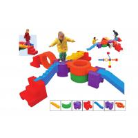 Buy cheap Indoor Plastic Indoor Playground Equipment Various Colors Non - Toxic from wholesalers