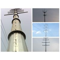 Buy power transmission monopole steel tower at wholesale prices