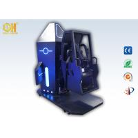 Buy cheap 3m² 720 Space Flip VR Simulator Games Gold Hunter Space Chair Black & Blue Color from wholesalers