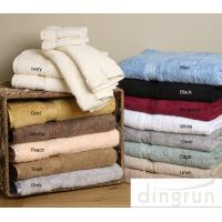 China Natural Anti Bacterial Cotton Bath Towels No Smell For Commercial Elgant Style on sale