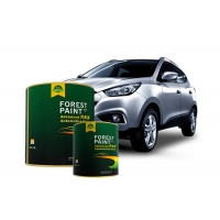 Quality Metallic Epoxy Anti Scratch Coating 1K Car Paint  For Automotive Frame for sale