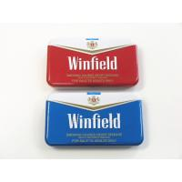 Quality Winfield Quality Cigarette Tin Can Metal Cigarette Case Cigarette Case With Lighter for sale