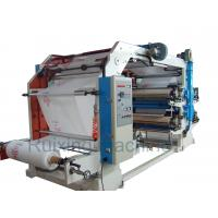 Quality CE Certificated High Speed Non Woven Printing Machine in Red Blue Purple Yellow for sale