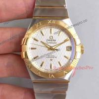 Quality Best Quality Omega Constellation 2 Tone White Dial Mens Watch 38mm for sale
