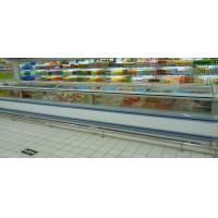 China Frozen Food Supermarket Island Freezer / Sea Food Display Counter Cabinet Freezer on sale