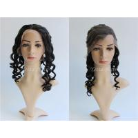 China 7A Grade Loose Wave Glueless Full Lace Human Hair Wigs For Black Women on sale