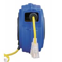 Buy cheap Yellow 125V 40' Commercial Lighted Goodyear Hose Reel With Circuit Breaker product