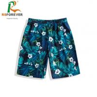 Quality Wholesale breathable print own design swimsuit custom made polyester surf mens boardshorts for sale