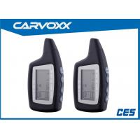 China Carvoxx 2 Way Keyless Entry Auto Alarm System with Remote Engine Starter on sale