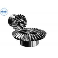 Quality Mirco Forging Steel Straight Bevel Gear / Spur Bevel Gear with Right Hand Direction for sale