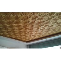 Quality Wall Art 3D Living Room  Wallpaper , Fashion Ceiling Mural Wall Tiles for Hotels or Restaurant for sale