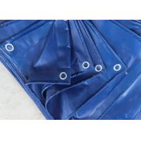 Quality Sunproof Geomembrane Pond Liner 230gsm PE Tarpaulin Cover Blue Color for sale