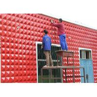 Quality Spa Hotel Waterproof Exterior Wall Decoration 3D Wall Panel  / 3D Decorative Wall Paneling Tiles for sale
