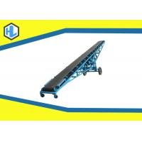 Buy cheap Troughed Motorized Powered Belt Conveyor Simple Structure Low Noise Design product