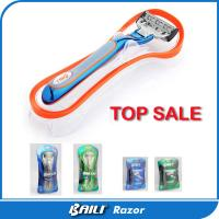 Quality New five blade razor American mens safety razor color customized for sale