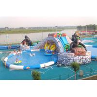 2014 Hot Commercial Cheap Giant Inflatable Water Slide For Adult Inflatable Pool Slide From