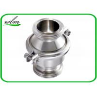 China Sanitary SS Check Valve , High Temperature Check Valve With Male Thread End on sale