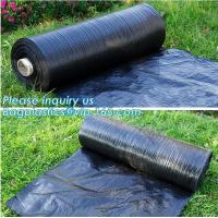 Quality Anti-UV Landscape Fabric PP Woven Agricultural Weed Control,PP Woven Landscape Fabric Garden Weed Barrier Mat, bagplasti for sale