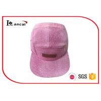 Quality Plain Baseball Flat Caps 5 Panels Summer Sports Baseball Caps For Women for sale