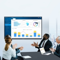 Quality Win10 86 Inch LCD Interactive Whiteboard For Meeting for sale