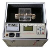 Buy cheap Dielectric strength oil tester, Transformer oil testing set, Insulating oil BDV from wholesalers