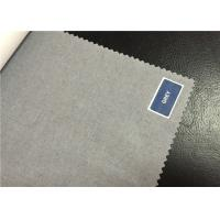 Buy cheap Durable Soft 100% Plain Cotton Grey Fabric Bleached For Garments / Clothes product