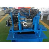 China Roller Shutter Door Roll Forming Machine , Guide Rail Cold Forming Machine on sale