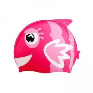 China Eco - Friendly Fun Design Kids Swim Hat , Cute Swim Caps For Children on sale