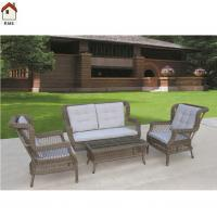 Quality rattan sofa set imitation rattan garden furniture from manufacturer RMS-0106 for sale