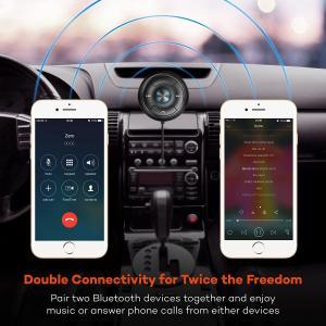 Quality Bluetooth Car Speakerphone Kits,Hands-Free Motion AUTO-ON Car Kit Stereo Music Speaker Wireless Sun Visor Audio Receiver for sale